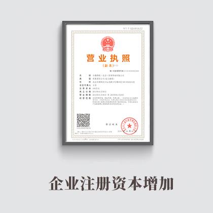 企业注册资本增加(内资有限公司)98353181409591630