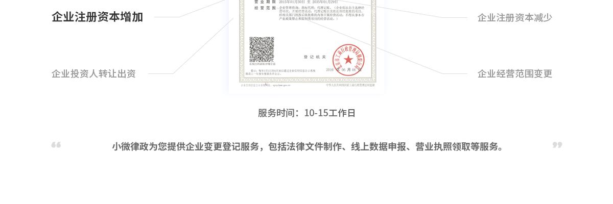 企业注册资本增加(内资有限公司)20100870588656772